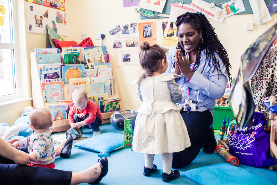 Slough's Child in Children Centres